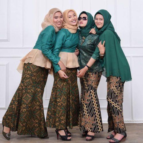 Desain Baju Sarimbit Batik Keluarga 2020