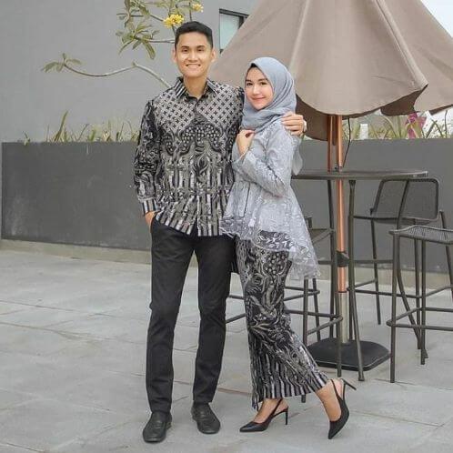 seragam batik keluarga untuk pernikahan
